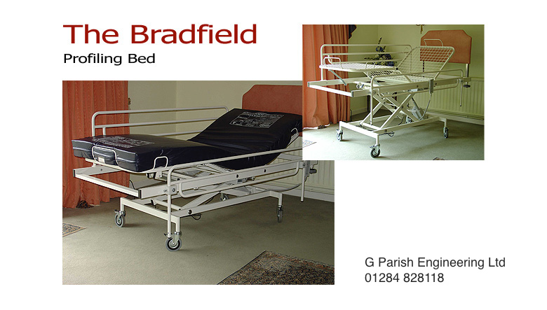 The Bradfield profiling care bed
