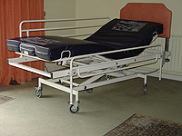 The Kersey electric care bed